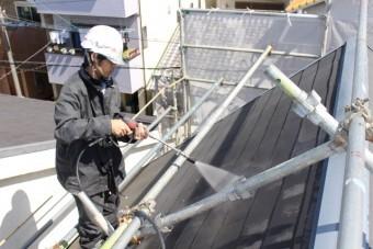 尼崎市屋根塗装工事5