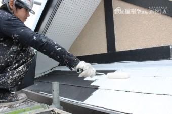 尼崎市屋根塗装工事6
