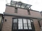 西宮市二階木造住宅外壁窯業系サイディング目地
