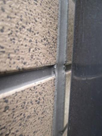 西宮市外壁窯業系サイディングたて目地