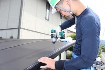 カーポート屋根修理職人さん