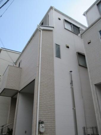 築12年木造三階建て住宅屋根カラーベスト点検