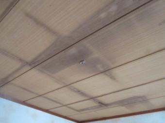 西宮市室内天井雨漏れ発生