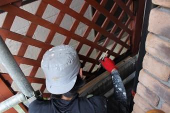 外壁塗装最終日1