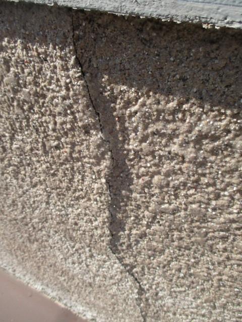 西宮市木造住宅壁亀裂