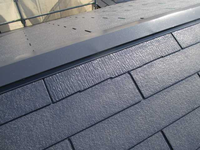 西宮市カラーベスト屋根板金塗装