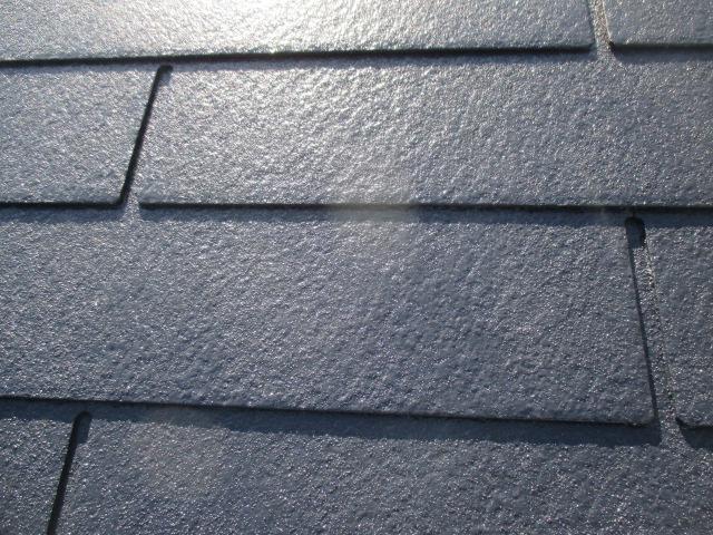 西宮市カラーベスト屋根塗装完了