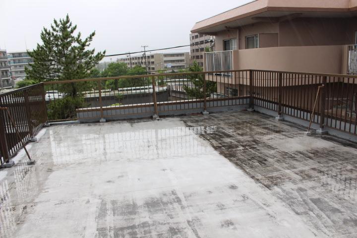 陸屋根の雨漏り