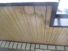 芦屋市茶屋ノ町にて築30年木造住宅の玄関天井に雨染み