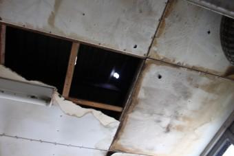 伊丹市倉庫屋根修理1