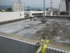 西宮市本町賃貸マンション陸屋根の劣化状態