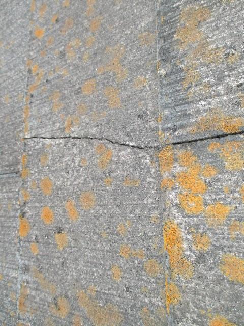西宮市カラーベスト表面亀裂