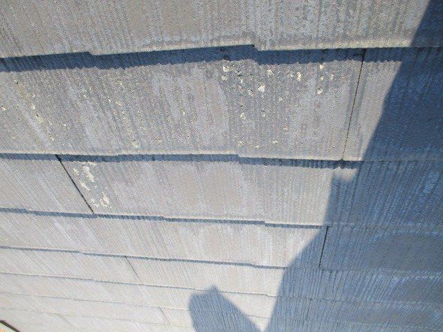 西宮市木造二階建て住宅カラーベスト傷み激しい