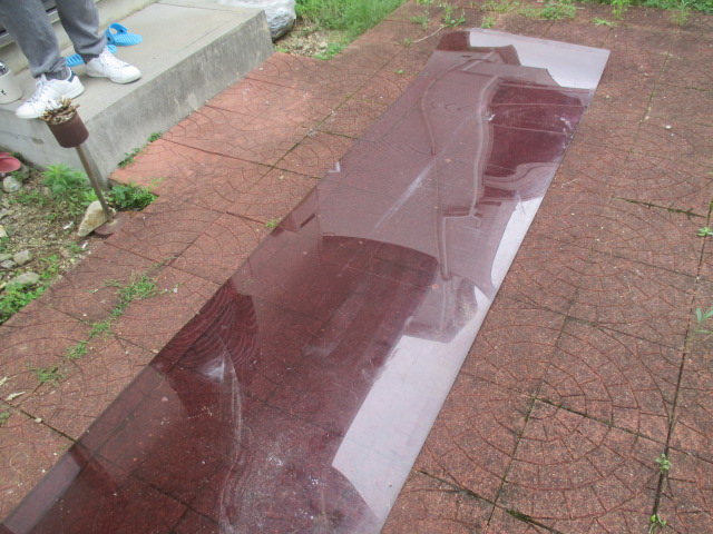 西宮市築20年~25年経過しているポリカーボネート波板