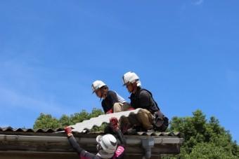 伊丹市倉庫屋根修理4