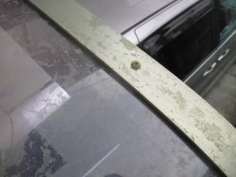 西宮市築25年ほど経過している駐駐車場用カーポート屋根の取付方法