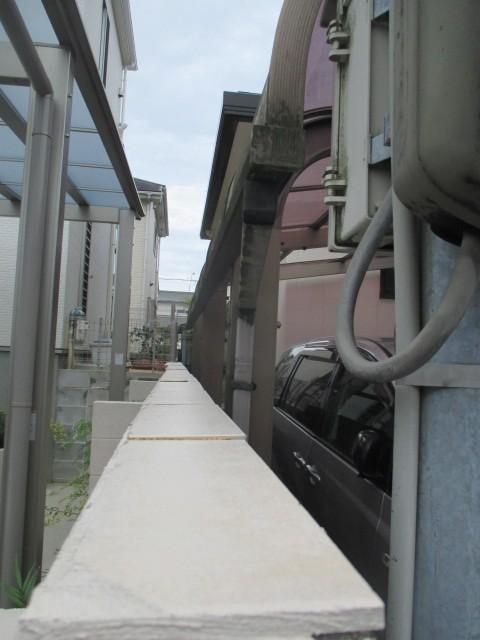 西宮市にてカーポート屋根作業時の注意点