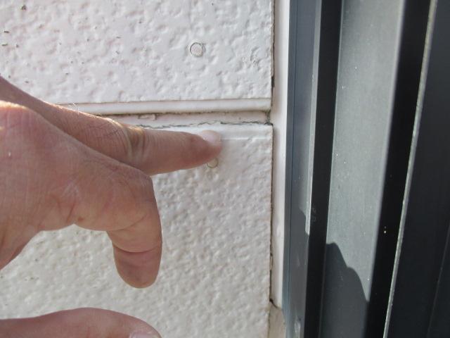 西宮市窯業系サイディング壁割れ
