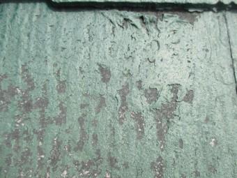 宝塚市17年~20年ほど経過しているカラーベスト表面