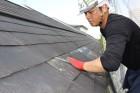 スレート屋根修理1