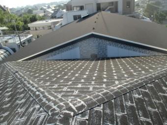 西宮市マンションの屋根部分劣化