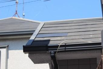 スレート屋根修理9