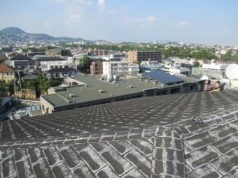 西宮市築20年アスファルトシングル屋根
