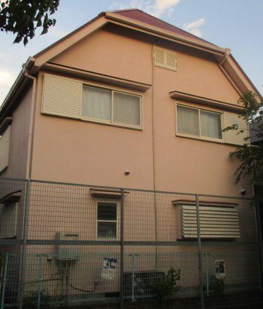 尼崎市築30年木造二階建て棟板金補修