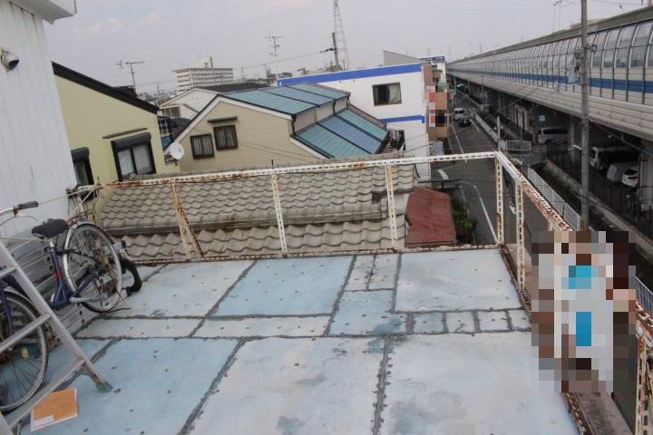 バルコニー屋根修理3
