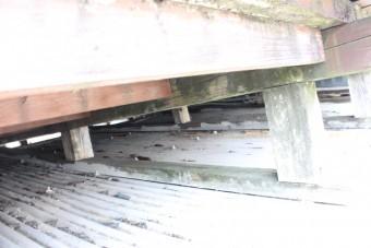 バルコニー屋根修理8
