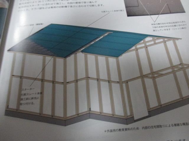 西宮市戸建て住宅屋根構造