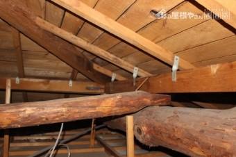 屋根葺替え現場調査4