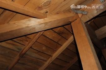 屋根葺替え現場調査5