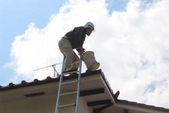 屋根葺替え現場調査7