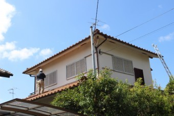 屋根葺替え現場調査6