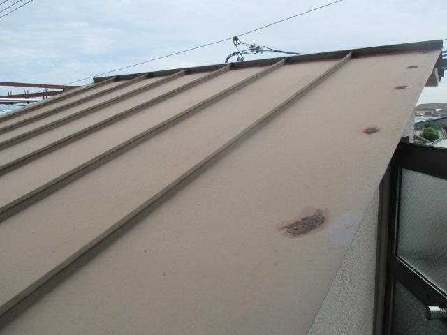 西宮市木造二階建て住宅瓦棒屋根