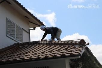 屋根葺替え現場調査8