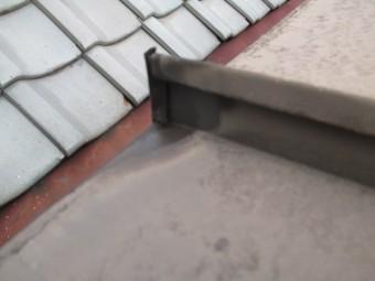 西宮市木造住宅屋上の瓦棒屋根
