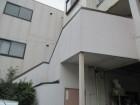 尼崎市玄関階段タイル破損