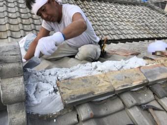 西宮市瓦修理9