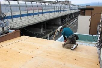 バルコニー屋根修理16