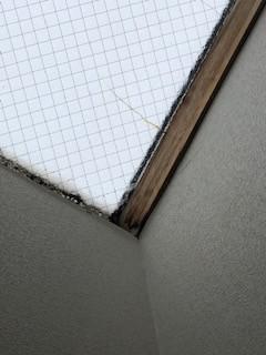 天窓ガラス交換現場調査4