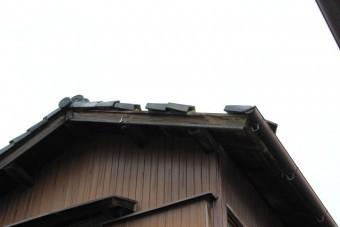 瓦屋根修理現場写真1