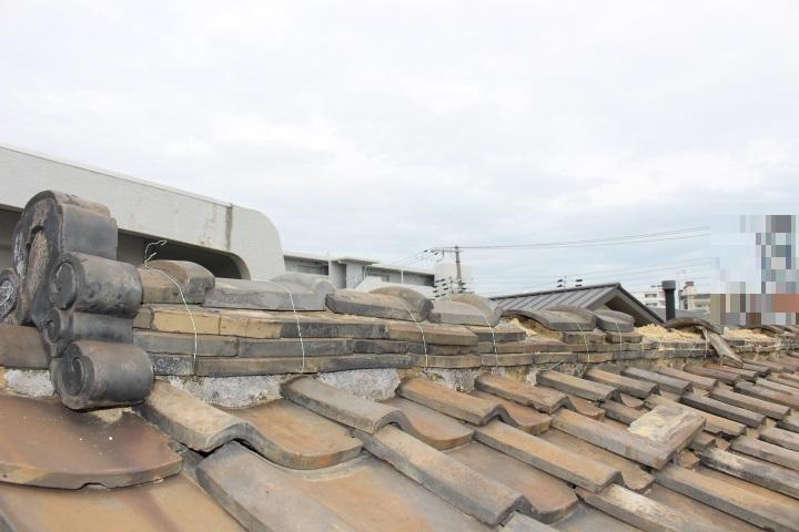 瓦屋根修理現場写真6