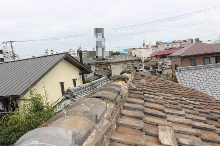 瓦屋根修理現場写真3