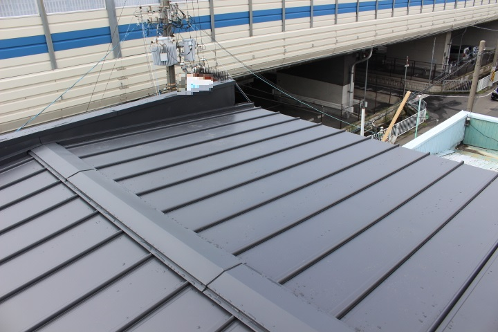 バルコニー屋根修理21