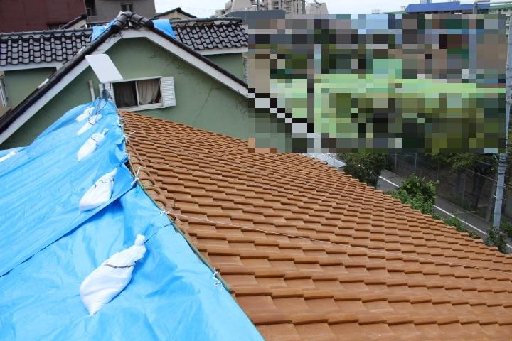瓦屋根修理2