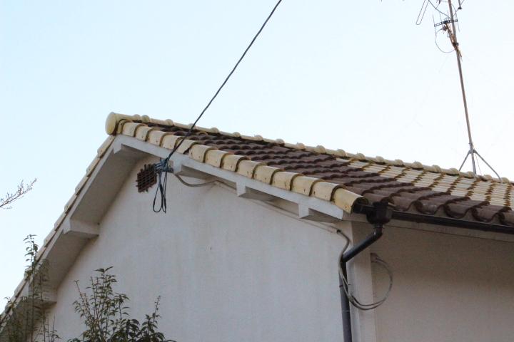 洋瓦の屋根2