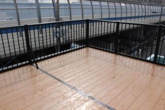 バルコニー屋根修理2