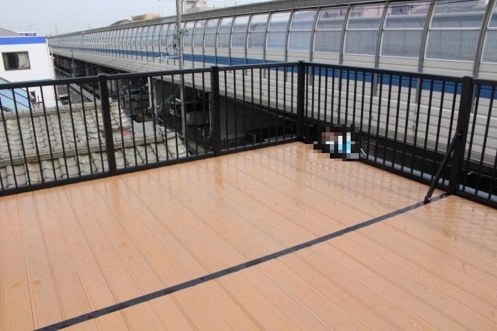 バルコニー屋根修理4